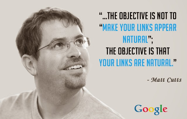 What Matt Cutts says about Link building