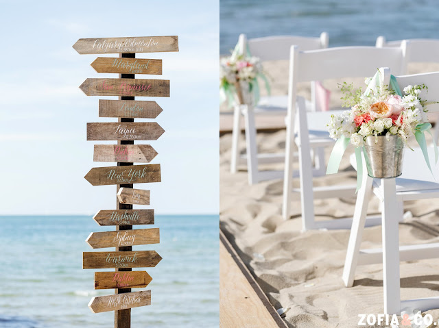 Nantucket Destination Wedding Sign