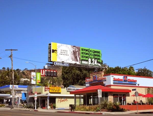 Beyonce MTV Music Video Awards billboard