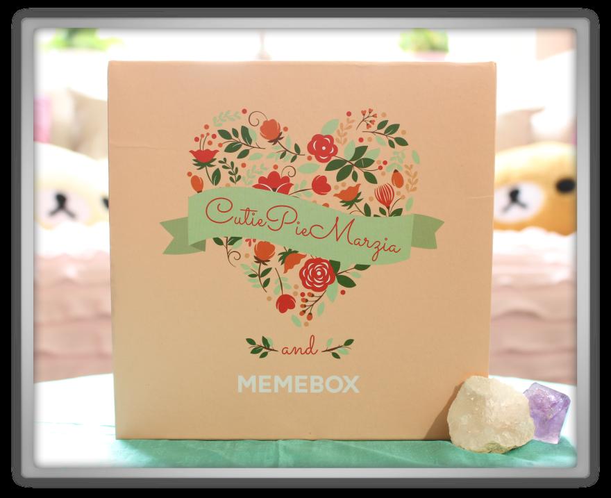 겟잇뷰티박스 by 미미박스 memebox beautybox Collaboration Box #2 CutiePieMarzia unboxing review preview box