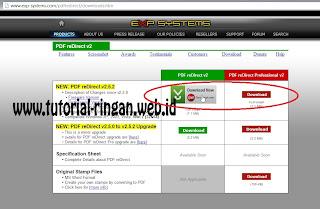 Unduh Software PDF reDirect