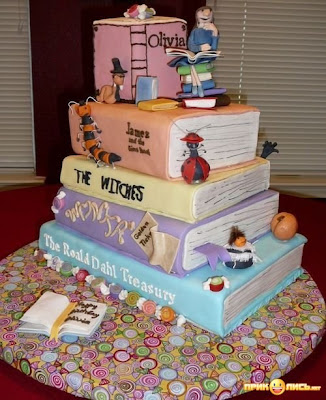Funny Cake In Shape Books