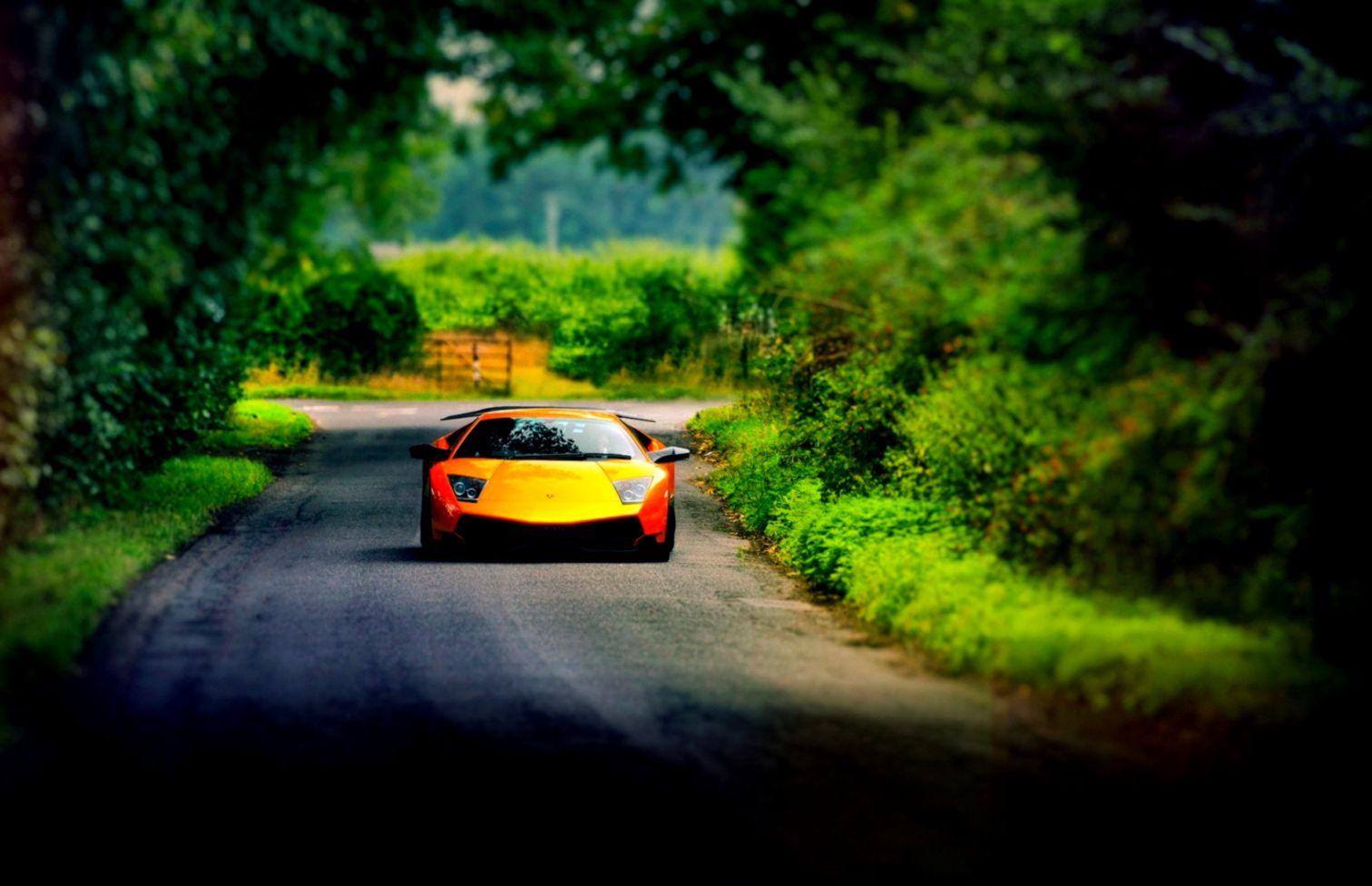 Lamborghini Murcielago Road Car Hd Wallpaper Wallpapers