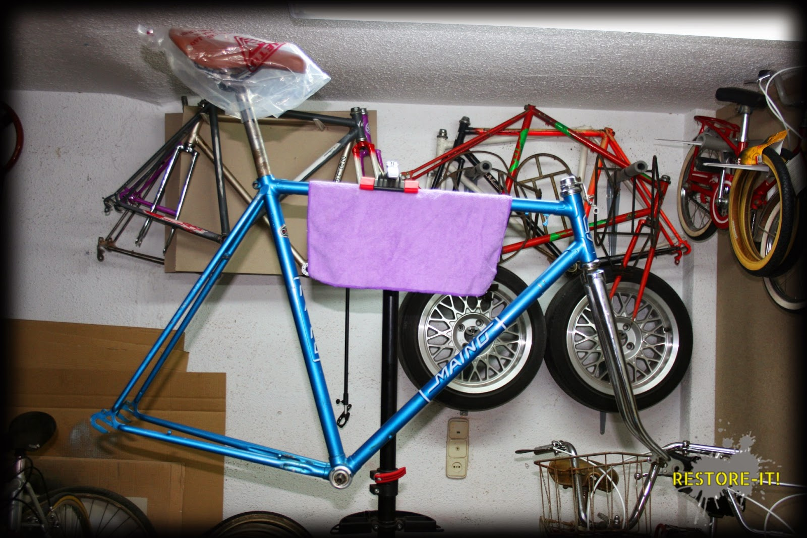 Restore- It!: Restauración bicicleta Cesare Rizzato & Co. desde ...