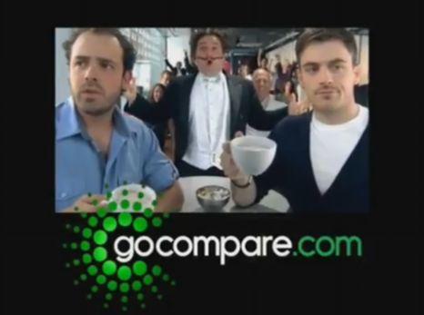 go compare tv ad