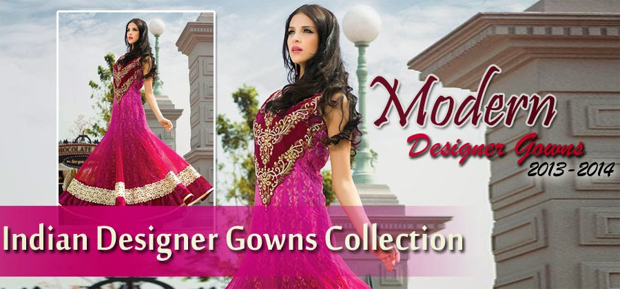 Indian Designer Gowns | Gorgeous Formal Lehengas | Modern Gowns From ...