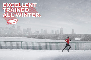 Excellent Trained All Winter; New Balance