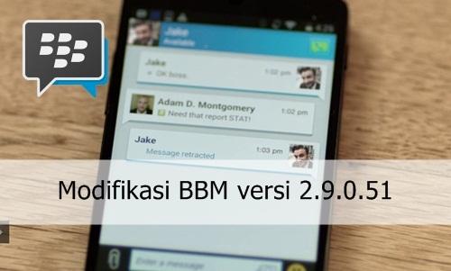 BBM versi 2.9.0.51 terbaru