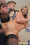 Abbey Brooks_catches her boss