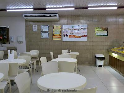 Sorveteria Amaralina: Ambiente da unidade da Pituba