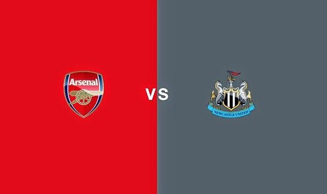 Poker Online : Prediksi Skor Arsenal vs Newcastle United 14 Desember 2014
