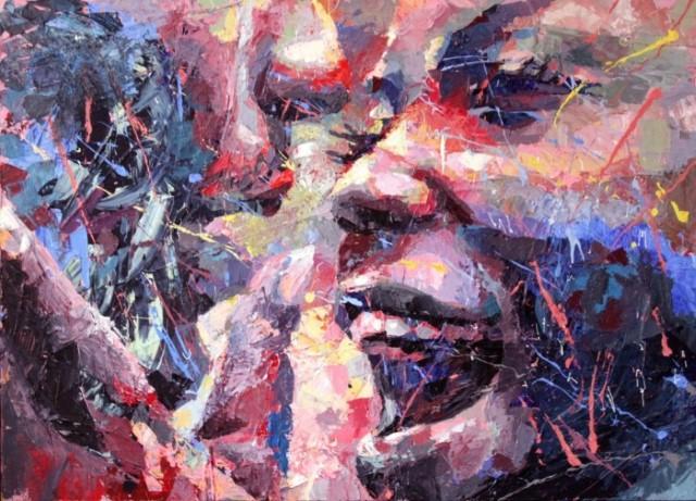 Акриловые картины. Henri Lamy