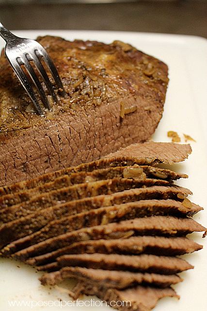 The secret to the Best Ever Brisket is Stubb's Hickory Liquid Smoke.