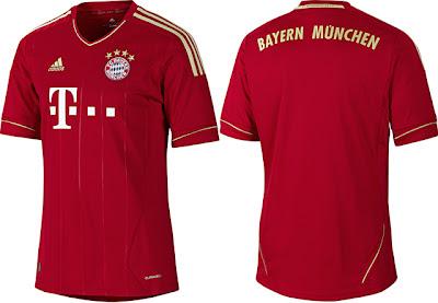 10 Baju Jersey/Kostum Klub Bola Paling Laris di Dunia  2013