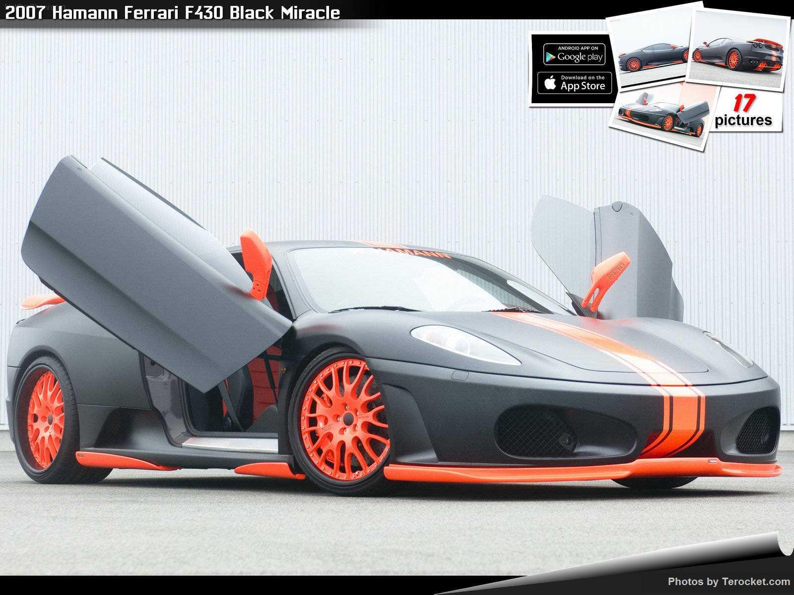 Hình ảnh xe ô tô Hamann Ferrari F430 Black Miracle 2007 & nội ngoại thất
