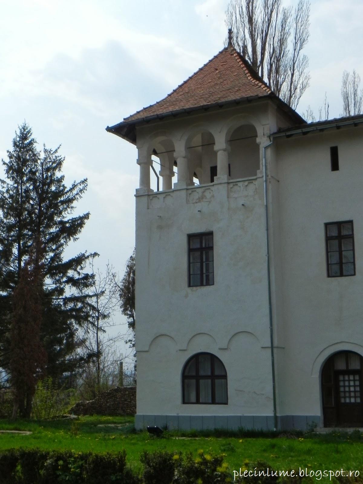 Turn din fosta ferma de pe domeniul Bratienilor