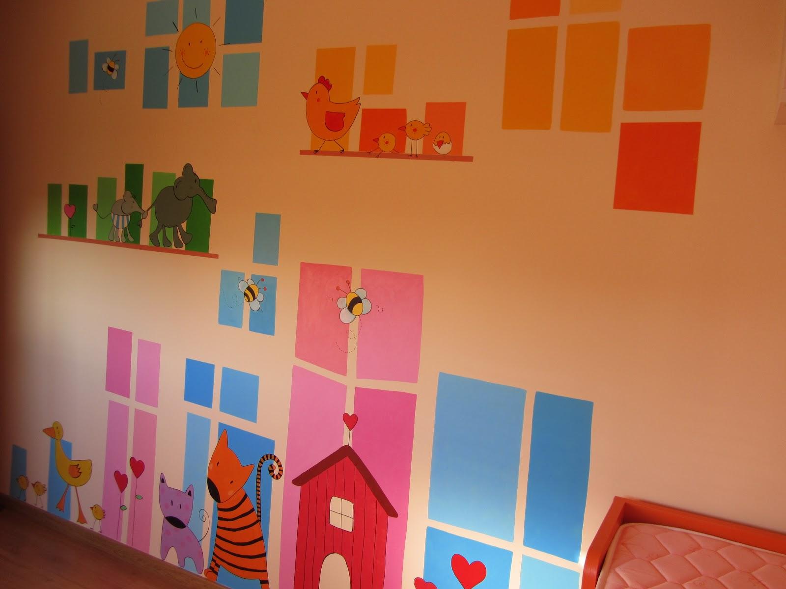 Decopared murales infantiles for Murales para decoracion