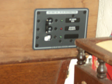 110 dc panel with 10amp charger breaker