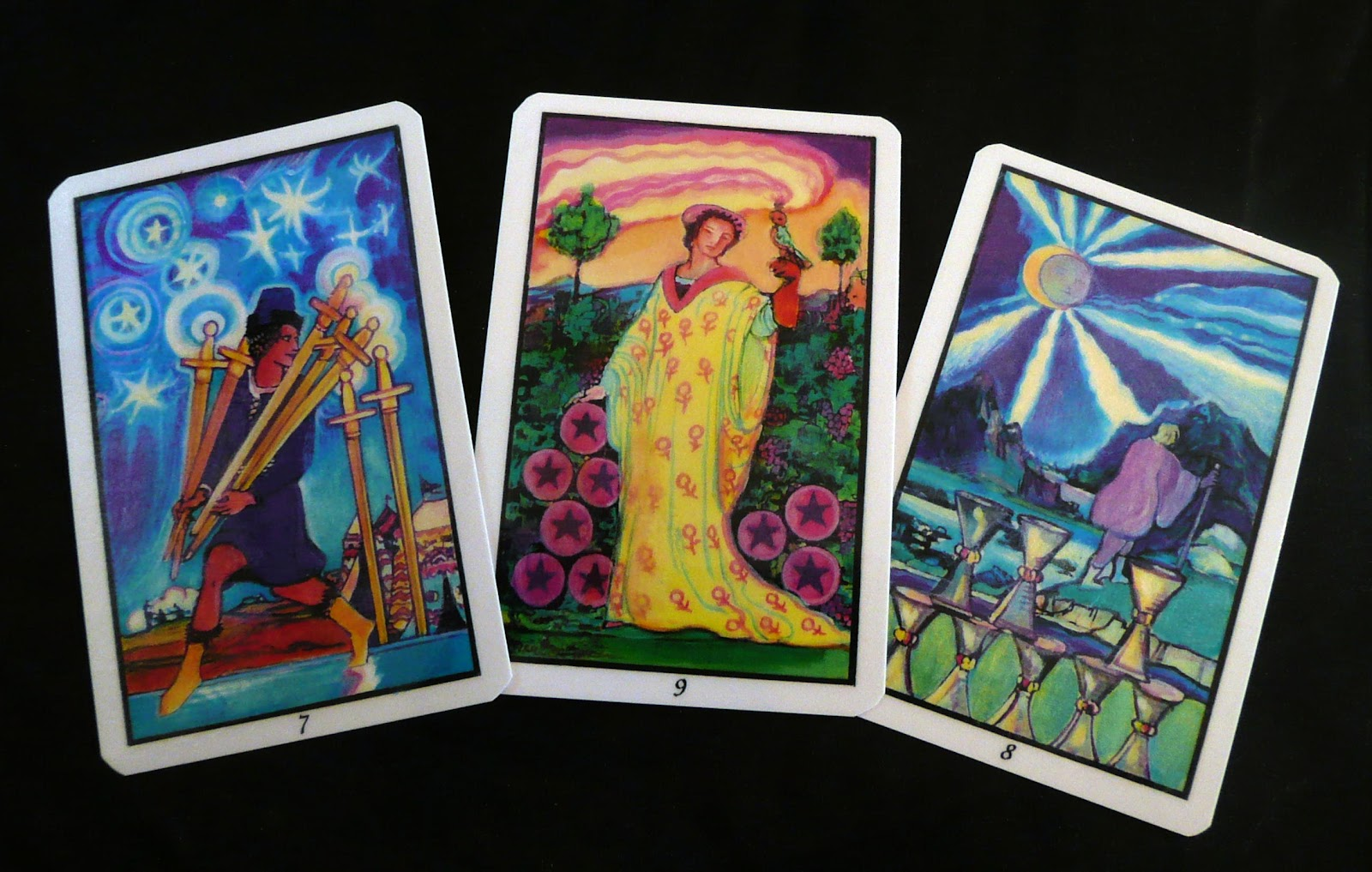 Hand Painted Tarot Deck