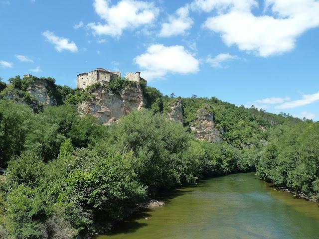 [CR] Bruniquel (82), Gorges de l'Aveyron le 09 juillet 2015. P1070557