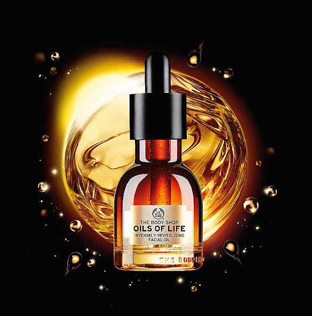 The Body Shop skincare Oils of life
