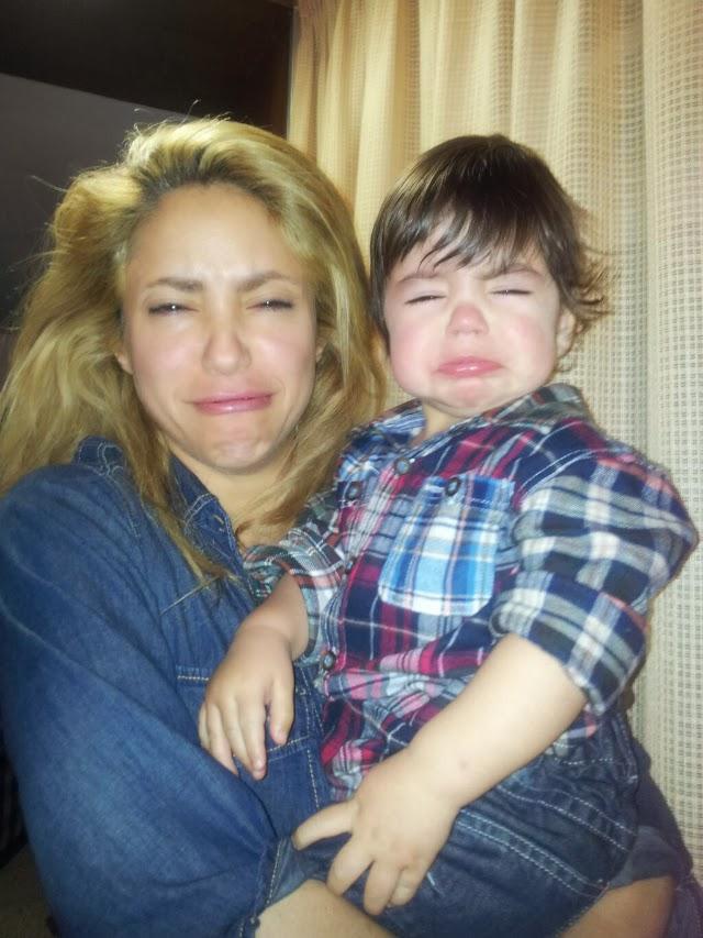 Shakira no hagas llora a tu hijo Milán