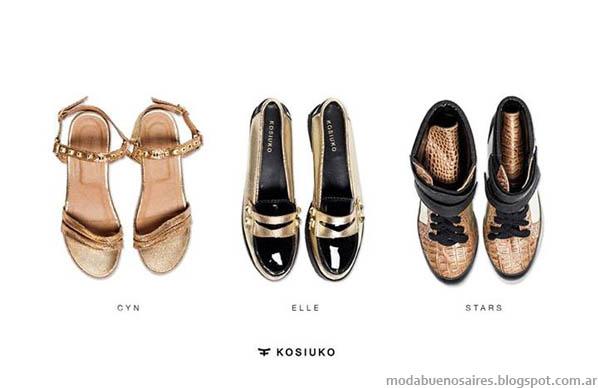 Sandalias y Zapatos 2014 Kosiuko. MODA.