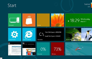 Windows 8 Theme Skin Pack 7.0 untuk Windows 7