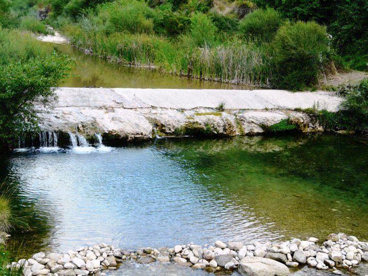 Río Isuala (Presa de Alberuela de Laliena)