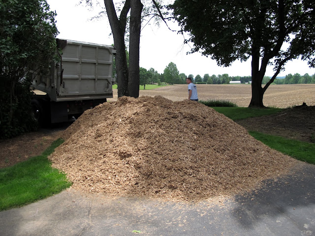 15 Yards of Mulch