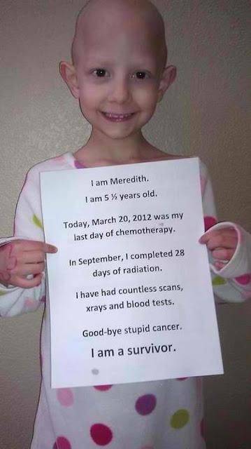 συγκινητική φωτογραφία-κοριτσάκι με καρκίνο-logia apla-λόγια απλά
