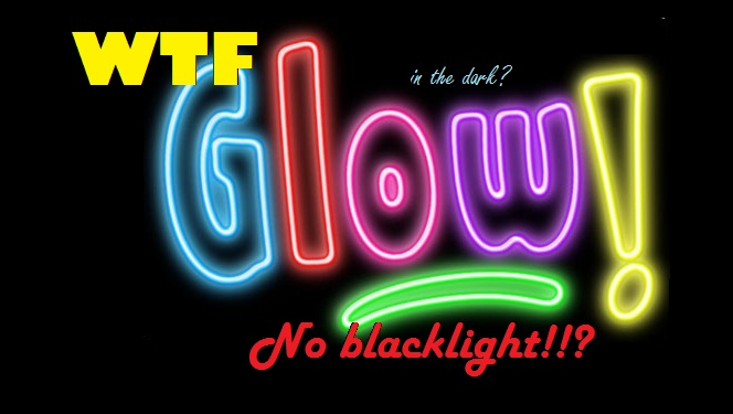 NailsByStephanie: Difference Between Black Light and Glow In The ...