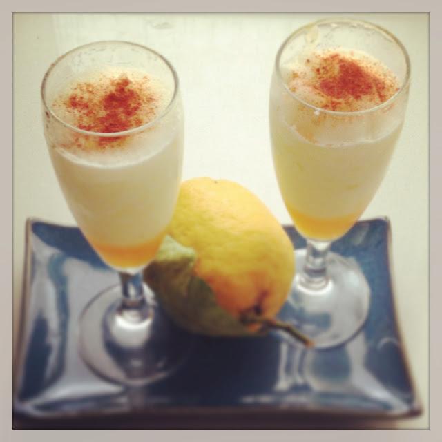 Sorbetto di limone con miele e peperoncino @monsieurtatin.blogspot.it
