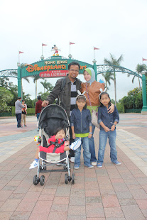 our journey to hk disneyland