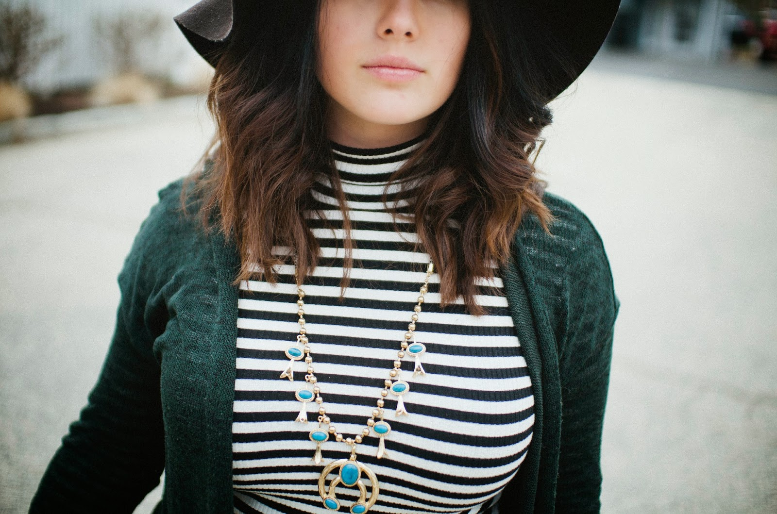 Topshop, squash, blossom, necklace, stripes, hat, sweater