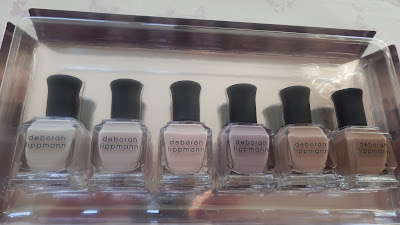 Deborah Lippmann Undressed Shades Of Nude Nail Polish Box Set