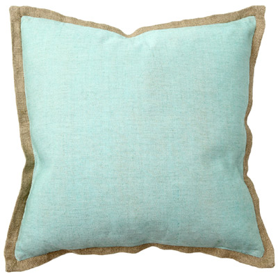 Solid Turquoise Pillow Pair Everything Turquoise