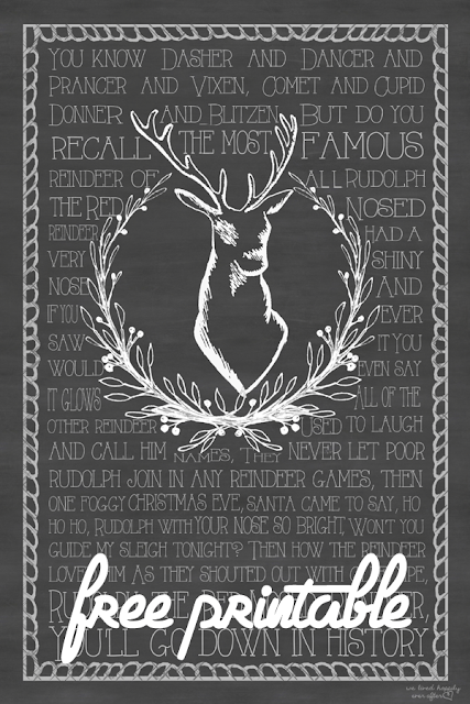 http://www.welivedhappilyeverafter.com/2013/11/free-rudolph-red-nosed-reindeer.html