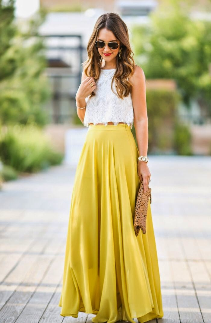 Maxi skirts and dresses pinterest