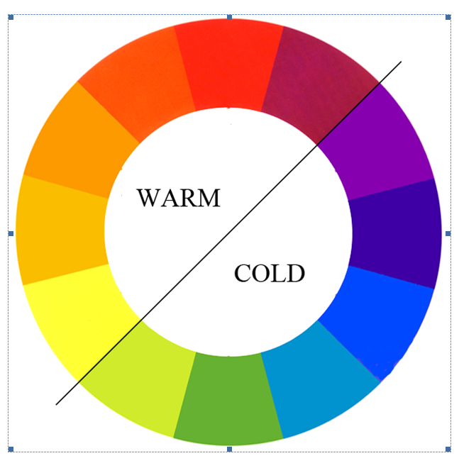 Room 17 warm and cold colours for How to get warm in a cold room