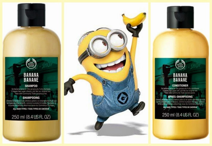 champú acondicionador banana platano The Body Shop