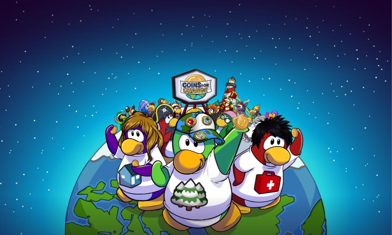 Cine Informacion y mas: Club Penguin - Coins For Change por 5ta ocasion