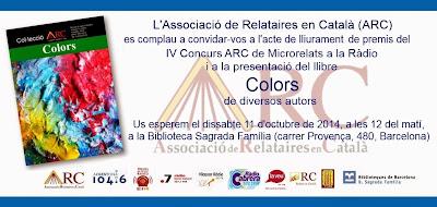 Invitació a la presentació de 'Colors'