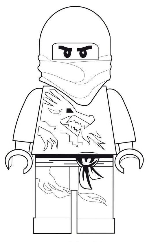 Lego Ninjago Coloring Pages The Lego Coloring Pages