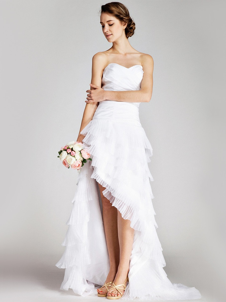 Wedding Dresses With Little Color : All about iwing dresses beautiful wedding with color