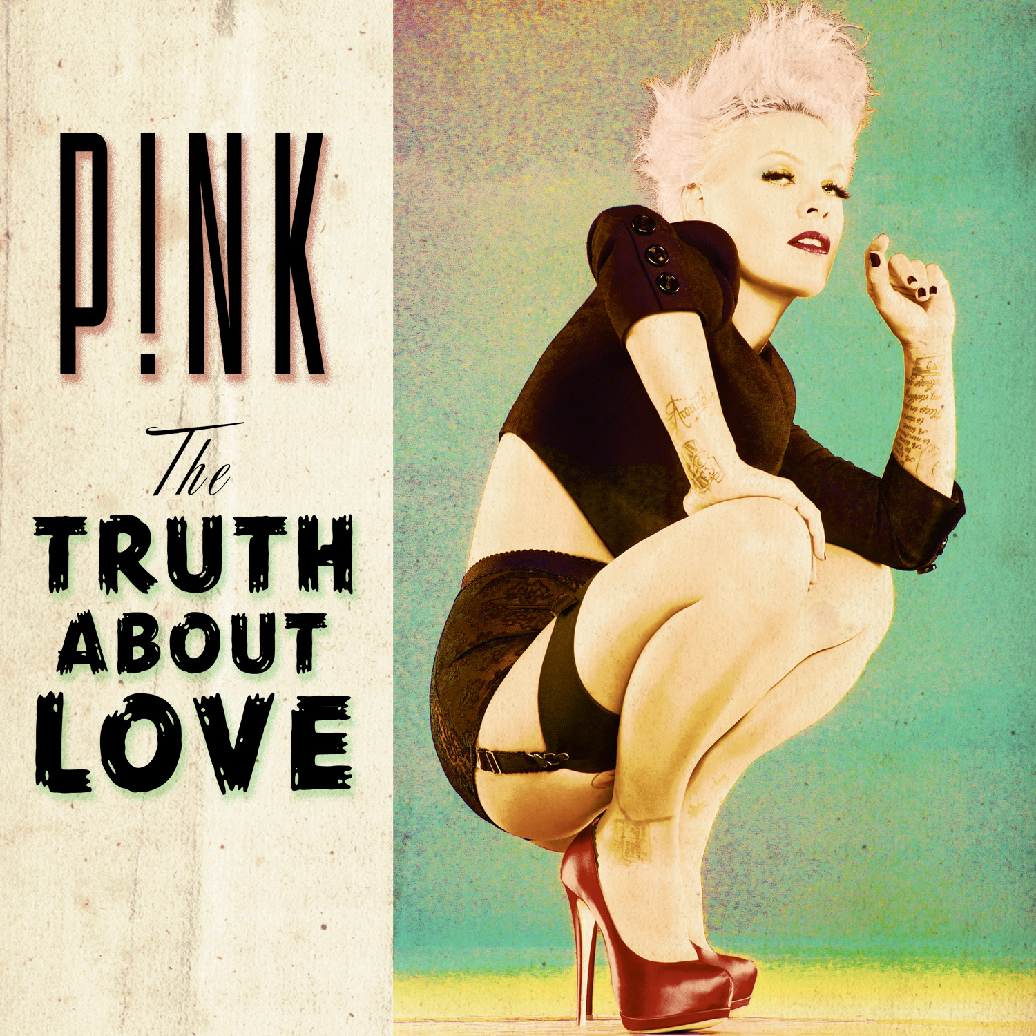 TMW : Pink Releases Album Cover Art For Truth About Love