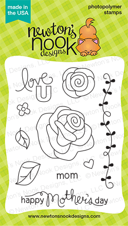 Love Grows 3x4 photopolymer stamp set | Newton's Nook Designs