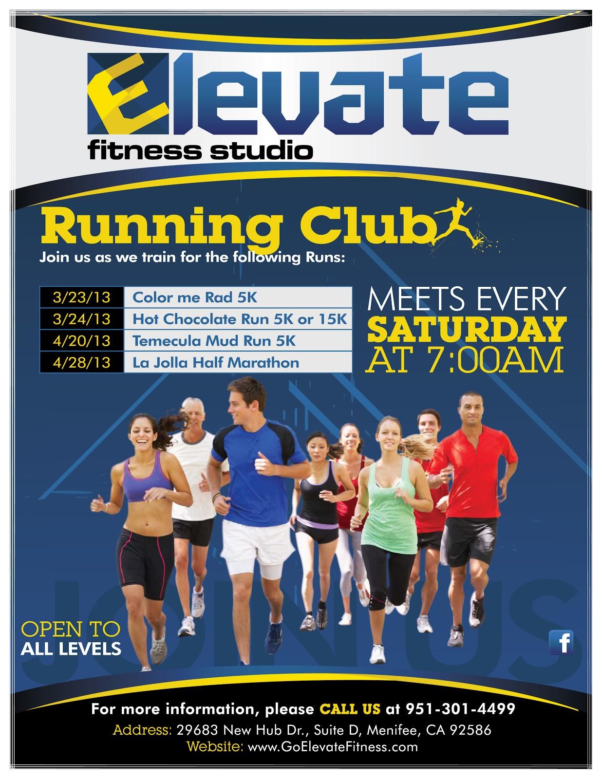 Run Club Running Club Meets Weekly on