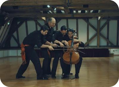 Bolero de Ravel la 4 x violoncel