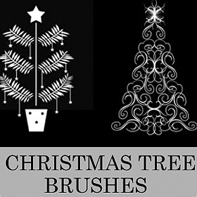 30 Beautiful Christmas Photoshop Brushes